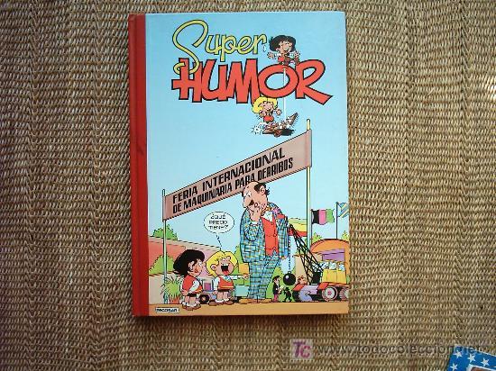 SUPER HUMOR ZIPI ZAPE Nº 5. JOSÉ ESCOBAR. EDICIONES B. 1994. 1ª EDICIÓN. (Tebeos y Comics - Ediciones B - Clásicos Españoles)
