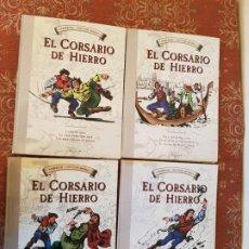 Cómics: EL CORSARIO DE HIERRO - COMPLETA 4 TOMOS - AMBROS / VICTOR MORA - EDICIONES B 1ª EDICION SEP 2010. Lote 194313850