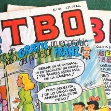 Cómics: LC 193 - TBO EDICIONES B - 2 REVISTAS - Nº 80 Y EXTRA PRIMAVERA N 86 CON ENCARTE FRANZ DE COPENHAGEN. Lote 194357610