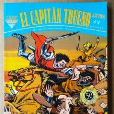 Cómics: EL CAPITÁN TRUENO FANS N°40, POR VÍCTOR MORA Y BUYLLA (EDICIONES B, 2006). EXTRA 64 PÁGINAS.. Lote 194365155