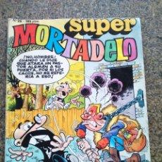 Cómics: SUPER MORTADELO -- Nº 26 -- EDICIONES B 1988 --. Lote 194392080
