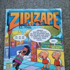 Cómics: ZIPI ZAPE -- Nº 4 -- EDICIONES B 1987 --. Lote 194392230