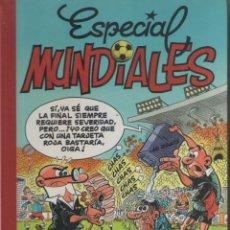 Cómics: SUPER HUMOR-MORTADELO-B.S.A.-AÑO 2001-COLOR-Nº 9-TAPA DURA-ESPECIAL MUNDIALES. Lote 194490676