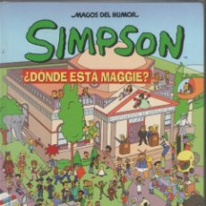 Cómics: SIMPSON-MAGOS DEL HUMOR-AÑO 2000-B.S.A.-COLOR-Nº 2-TAPA DURA-DONDE ESTA MAGGIE. Lote 194495178