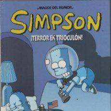 Cómics: SIMPSON-MAGOS DEL HUMOR-AÑO 2000-B.S.A.-COLOR-Nº 5-TAPA DURA-TERROR EN TRIOCULON. Lote 194495341