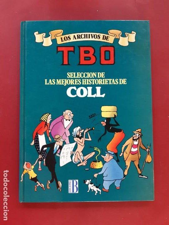 LOS ARCHIVOS DE TBO COLL POR ESTRENAR VER FOTOGRAFIAS (Tebeos y Comics - Ediciones B - Clásicos Españoles)