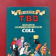 Cómics: LOS ARCHIVOS DE TBO COLL POR ESTRENAR VER FOTOGRAFIAS. Lote 194522072