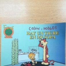 Cómics: FANS CALVIN Y BOBBES #7 HAY UN TIGRE EN MI SOPA. Lote 194525632