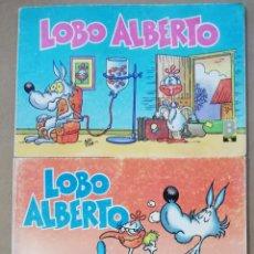 Cómics: LOBO ALBERTO - NÚMEROS: 1 - 2 - 3 - EDICIONES B (GRUPO Z) - 1988 - PJRB. Lote 194532842