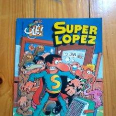 Cómics: SUPER LÓPEZ Nº 4: LOS ALIENÍGENAS - 1997 - PORTADA EN RELIEVE - TAMAÑO GRANDE. Lote 194608022