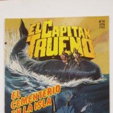 Cómics: EL CAPITÁN TRUENO. EDICION HISTÓRICA. Nº 54. EL CEMENTERIO EN LA ISLA. EDICIONES B. TDKC47. Lote 194619655