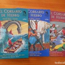 Cómics: EL CORSARIO DE HIERRO - FANS - Nº 1, 2 Y 3 - VICTOR MORA - EDICIONES B (IT). Lote 194665381