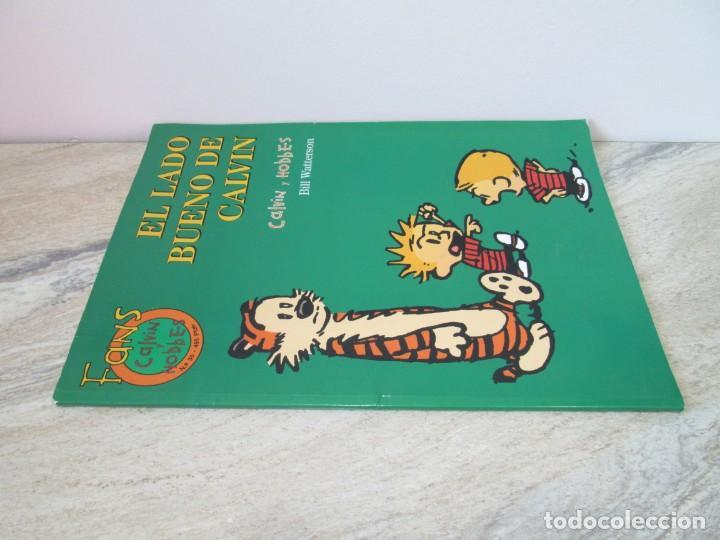 Cómics: EL LADO BUENO DE CALVIN. CALVIN Y HOBBES. BILL WATERSON. NUM 30. EDICIONES GRUPO ZETA. 2001 - Foto 2 - 194688980