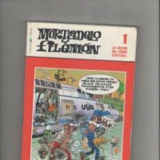 Cómics: MORTADELO Y FILEMÓN-E.D. EL MUNDO-Nº 1-AÑO 2006-COLOR-CARTON-. Lote 194701575