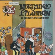 Cómics: MORTADELO Y FILEMÓN-E.D. B.S.A.-AÑO 2003-COLOR-CARTON-Nº 44-EL PREBOSTE DE SEGURIDAD. Lote 194702638