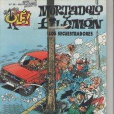 Cómics: MORTADELO Y FILEMÓN-E.D. B.S.A.-AÑO 2003-COLOR-CARTON-Nº 59-LOS SECUESTRADORES. Lote 194702826