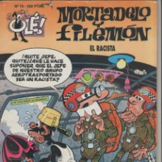 Cómics: MORTADELO Y FILEMÓN-E.D. B.S.A.-AÑO 2003-COLOR-CARTON-Nº 79-EL RACISTA. Lote 194702910