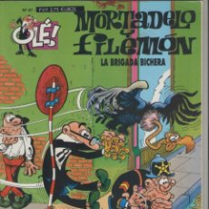 Cómics: MORTADELO Y FILEMÓN-E.D. B.S.A.-AÑO 2003-COLOR-CARTON-Nº 87-LA BRIGADA BICHERA. Lote 194703035