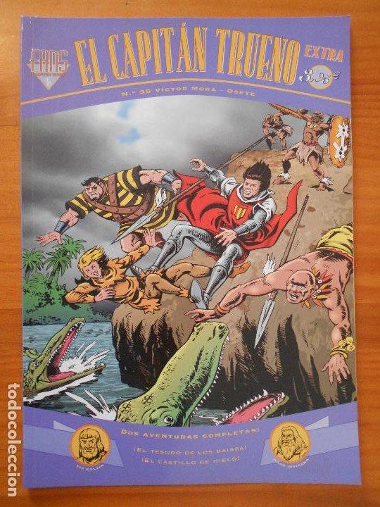 EL CAPITAN TRUENO EXTRA FANS - Nº 35 - VICTOR MORA - EDICIONES B (HI) (Tebeos y Comics - Ediciones B - Clásicos Españoles)