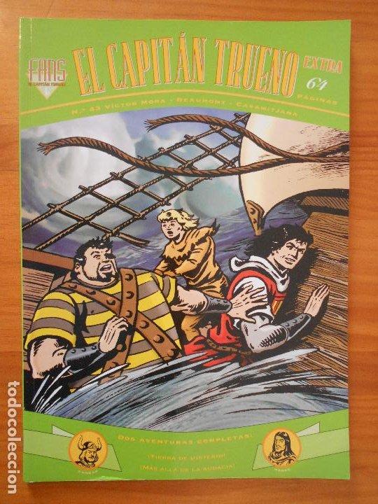 EL CAPITAN TRUENO EXTRA FANS - Nº 43 - VICTOR MORA - EDICIONES B (HI) (Tebeos y Comics - Ediciones B - Clásicos Españoles)