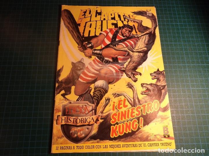 EL CAPITAN TRUENO. Nº 135. EDICION HISTORICA. EDICIONES B. (M-3) (Tebeos y Comics - Ediciones B - Clásicos Españoles)