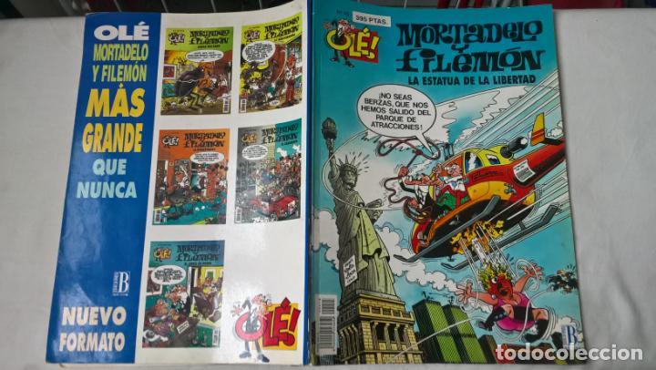 COMIC: COLECCION OLE Nº 15. MORTADELO Y FILEMON. LA ESTATUA DE LA LIBERTAD (Tebeos y Comics - Ediciones B - Clásicos Españoles)