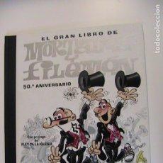 Comics : EL GRAN LIBRO DE MORTADELO Y FILEMÓN. 50 ANIVERSARIO. CON DVD. EDICIONES B, 2ª ED, 2007.. Lote 194752637