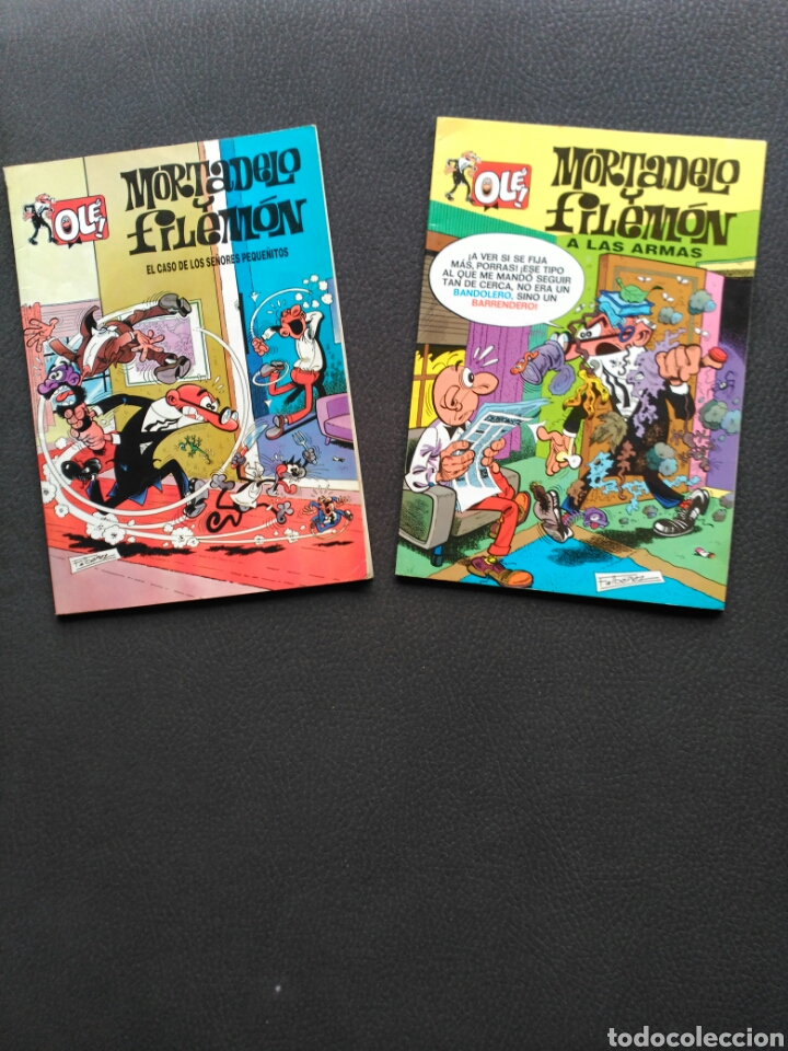 Cómics: Mortadelo y Filemón, 2 comics Olé - Foto 1 - 194774313