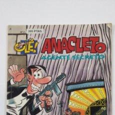 Cómics: ANACLETO AGENTE SECRETO. OLÉ! N°2. EDICIONES B. TDKC48. Lote 194865217