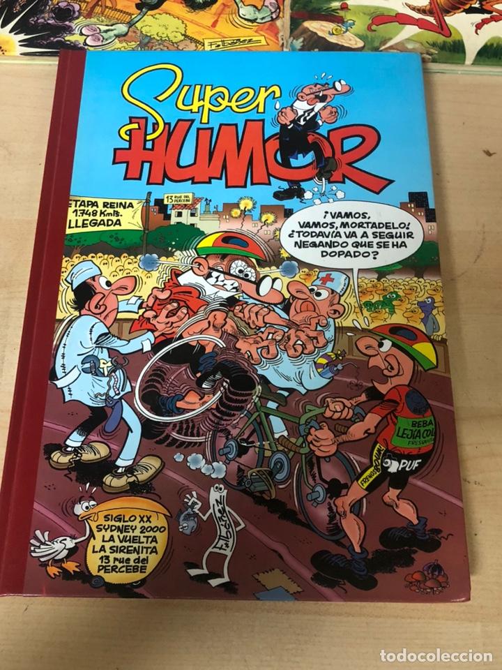 Cómics: Lote de 5 tebeos mortadelo y filemon y super humor ediciones b f ibañez - Foto 2 - 194882387