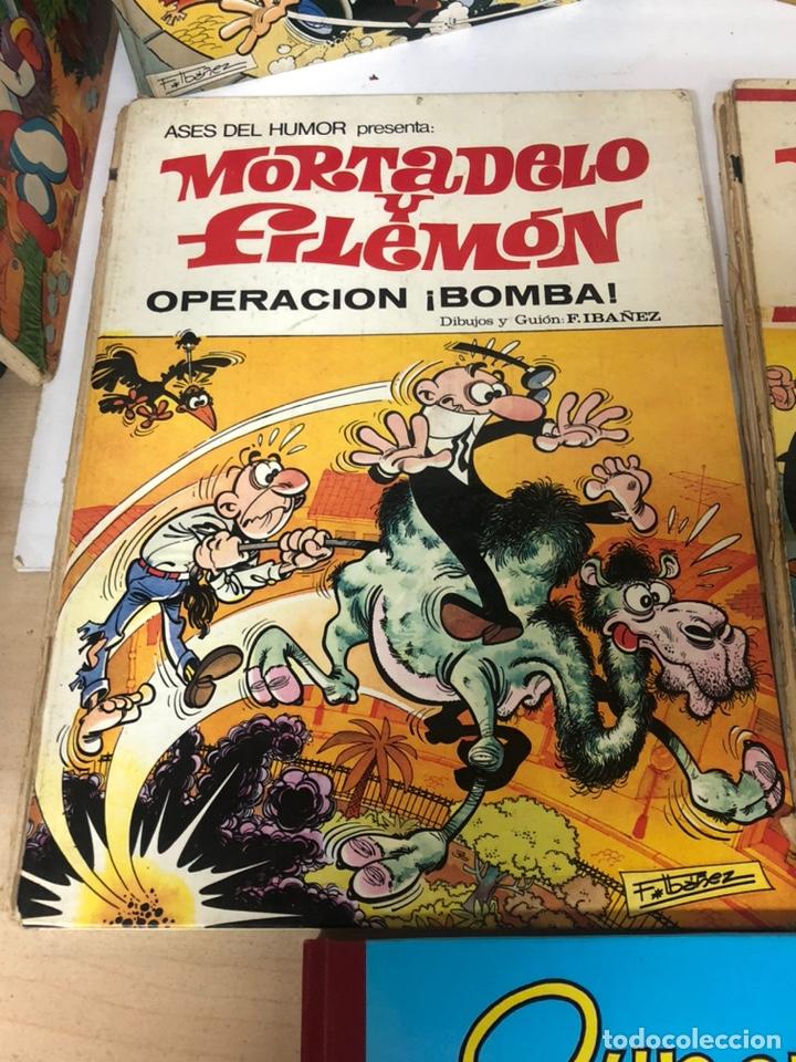Cómics: Lote de 5 tebeos mortadelo y filemon y super humor ediciones b f ibañez - Foto 3 - 194882387