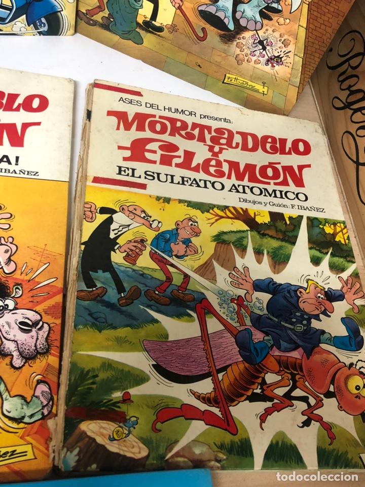 Cómics: Lote de 5 tebeos mortadelo y filemon y super humor ediciones b f ibañez - Foto 4 - 194882387
