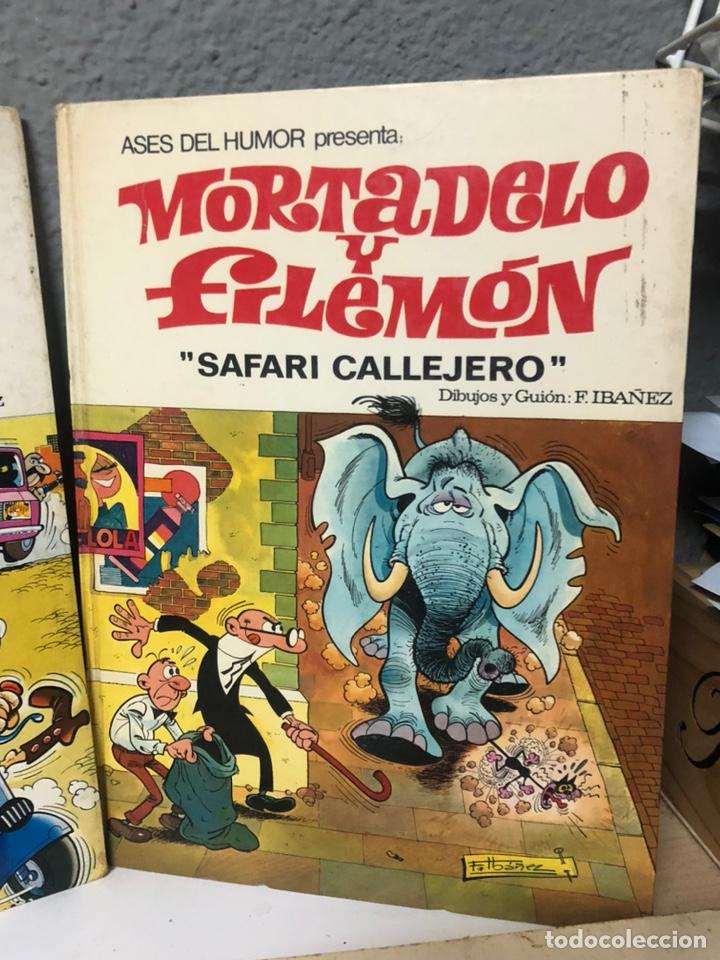 Cómics: Lote de 5 tebeos mortadelo y filemon y super humor ediciones b f ibañez - Foto 5 - 194882387