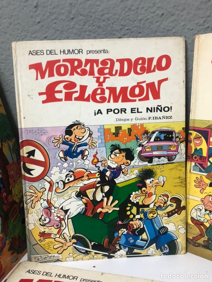 Cómics: Lote de 5 tebeos mortadelo y filemon y super humor ediciones b f ibañez - Foto 6 - 194882387