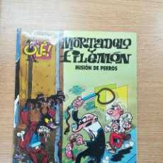 Cómics: MORTADELO Y FILEMON MISION DE PERROS (OLE #51 - 3ª EDICION 1999). Lote 194941070
