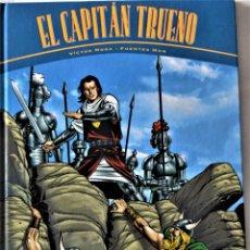 Cómics: EL CAPITAN TRUENO - DOS AVENTURAS COMPLETAS - LA HORDA DE AKBAR Y LA RUINAS DE TINTAGEL - TAPA DURA. Lote 194949637