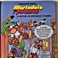 Cómics: MORTADELO Y FILEMON Nº 15 - LA HISTORIA DE MORTADELO Y FILEMON - EDICIONES B - TAPA DURA. Lote 194950620