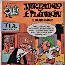 Cómics: MORTADELO Y FILEMON Nº 100 - OLÉ - SULFATO ATOMICO - IBAÑEZ - TAPA BLANDA. Lote 194951346