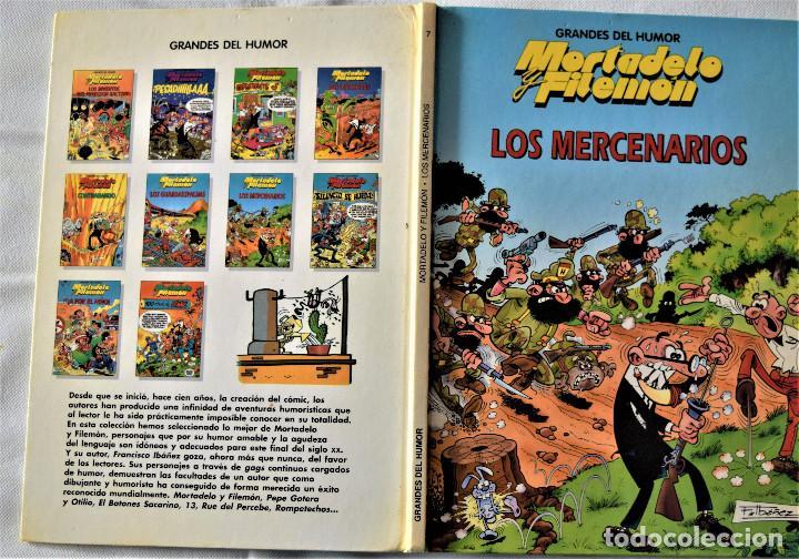Cómics: MORTADELO Y FILEMON Nº 7 - LOS MERCENARIOS - IBAÑEZ - EDICIONES B - TAPA DURA - AÑO 1997 - Foto 2 - 194952071