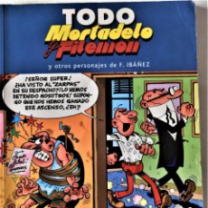 Cómics: TODO MORTADELO Y FILEMON Nº 17 - POR F. IBAÑEZ - EDICIONES B - TAPA BLANDA. Lote 194952533
