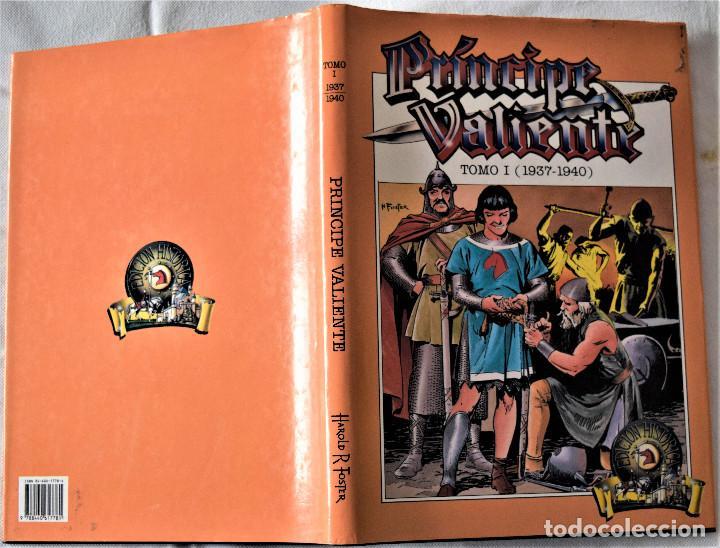 Cómics: PRINCIPE VALIENTE - TOMI 1 (1937- 1940) EDICIONES B CRUPO Z - TAPA DURA - Foto 2 - 194957891