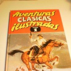 Cómics: AVENTURAS CLÁSICAS ILUSTRADAS. TOMO I. MIGUEL STROGOFF Y 7 MÁS EDICIONES B 1990 (SEMINUEVO, LEER). Lote 194961081