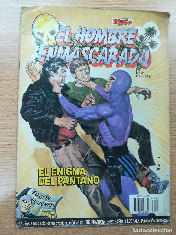 HOMBRE ENMASCARADO EDICION HISTORICA #26 (Tebeos y Comics - Ediciones B - Otros)