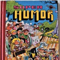 Cómics: SUPER HUMOR -3 NUMEROS DE MORTADELO Y FILEMON Y 2 NUMEROS ZIPI Y ZAPE - RETAPADO - TAPA DURA. Lote 194992006