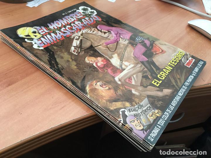 EL HOMBRE ENMASCARADO EDICIÓN HISTORICA LOTE 7 DIFERENTES (EDICIONES B) (COIB61) (Tebeos y Comics - Ediciones B - Clásicos Españoles)
