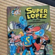 Cómics: TEBEO OLÉ! N°9 SÚPER LÓPEZ. Lote 195031616
