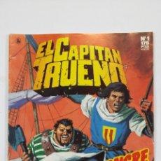 Cómics: EL CAPITAN TRUENO Nº 1. EDICION HISTORICA. ¡A SANGRE Y FUEGO! EDICIONES B. TDKC49. Lote 195104827