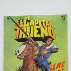 Cómics: EL CAPITAN TRUENO Nº 3. EDICION HISTORICA. ¡LAS HORDAS DE GENGIS KHAN! EDICIONES B. TDKC49. Lote 195104940