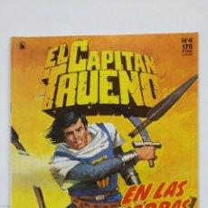 Cómics: EL CAPITAN TRUENO Nº 4. EDICION HISTORICA. EN LAS TIERRAS DEL LANKALAMA EDICIONES B. TDKC49. Lote 195105001