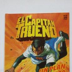 Cómics: EL CAPITAN TRUENO Nº 16. EDICION HISTORICA. UN PLAN SINIESTRO. EDICIONES B. TDKC49. Lote 195105647